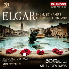 Elgar: The Music Makers, The Spirit of England- Davis (Chandos)